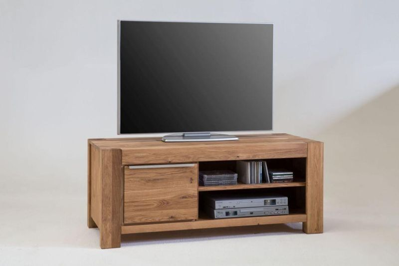 tv kommode 125 cm nemo wildeiche massiv ge lt w 2756 wildeiche. Black Bedroom Furniture Sets. Home Design Ideas